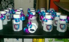 Monster High party bubbles