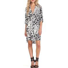 Rank & Style Top Ten Lists | Diane von Furstenberg Prita Wrap Shirt Dress #rankandstyle