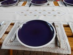 Linen Tablecloth, Silk Thread, Embroidered Silk, Table Runners, Napkins, Table Settings, Dining Table, Rustic, Table Decorations