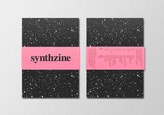 Textura/pattern + faja // Tiene su rollo, mira el proyecto entero en Behance - synthzine #1 on Behance