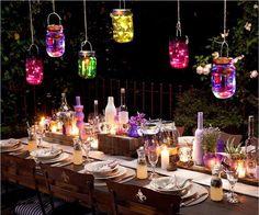 5 Pack Solar Mason Jar String Lights Solar 20 Led String Fairy Star Lights Screw on Silver Lids for Patio Garden Path Lights