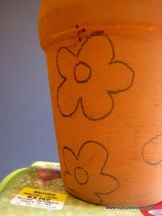mothers day craft flower pot