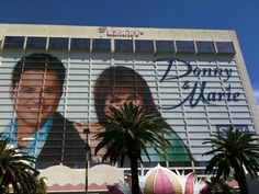 Donny and Marie at The Flamingo in Las Vegas Nevada. Loved their show!