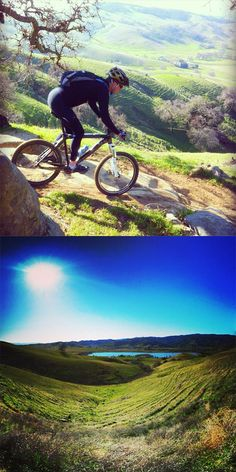 Are you an avid mountain biker? Vacaville is home to the best trails and hills in all of California!