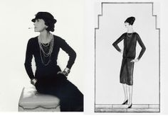 In 1926 the first 'little black dress' was designed by Coco Chanel. Vogue became the first magazine to publish a drawing of the little black dress and was referred to as 'Ford' predicting that it will be a timeless uniform for women of all ages and social class in years to come.