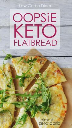 Keto bread with almost no carbs. Atkins Induction-friendly recipe. Go savory or sweet with crunchy toppings, rich sauces and high fat fillings.