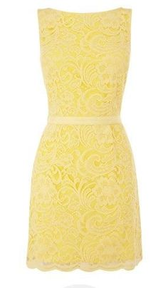 something like this Cute pastel yellow dress for bridesmaid Fran @fransweets