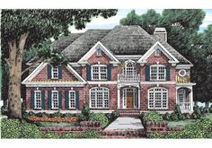Frank Betz Associates, Inc. The Carmichael House Plan DDWEBDDFB-770 two story foyer 3262 sq ft