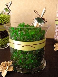 Green gummy bears—perfect for any #Baylor occasion!