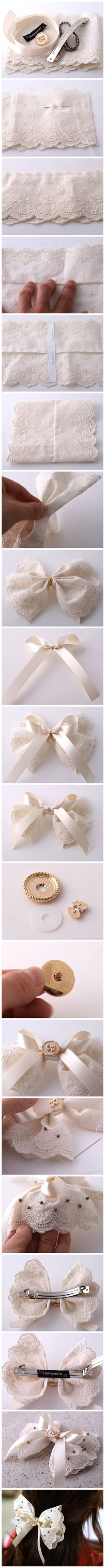 DIY Cute Bow: