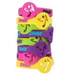 Zumba Logo Bracelets - Pack of Eight - NEW DESIGN!
