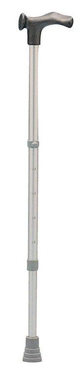 Wandelstok in hoogte verstelbaar - links (73 - 96 cm)  De wandelstok is een lichtgewicht aluminium wandelstok. De wandelstok is verstelbaar in hoogte. Deze wandelstok is voorzien van een anatomisch handvat (links).  EUR 11.25  Meer informatie