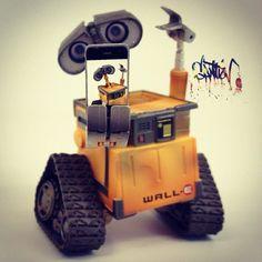 Smart robots use smartphones. - @santlov- #webstagram