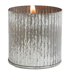 Clean white ceramic paired with corrugated metal creates a trendy and rustic industrial look perfect for a country cabin or cozy downtown loft. Relax with one of three authentically western scents, and build an inviting and safe environment for your home.