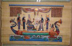 Cuadros egipcios en papiros originales - Lima, Perú - Obras de Arte