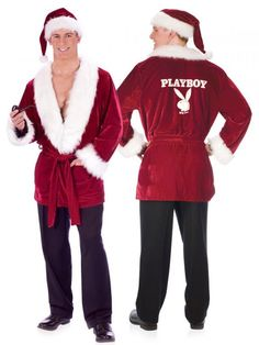 Hefs Santa Jacket And Hat Hefs Santa Jacket And Hat Sit On Santa's Lap... Includes: Deep red velvet jacket with full black lining and two front pockets, whi