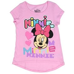 Minnie Mouse Wink Tee - Toddler & Girls by Penguin Kids Wear Minnie Mouse, Pink Minnie, Pink Outfits, Disney Outfits, Disney Clothes, Shirts For Teens Boys, Disney Shirts, Kids Wear, Colorful Shirts