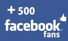 give you real 500 facebook fanpage likes