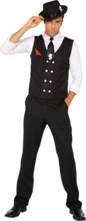 Adult Gangster Mole Costume - Party City
