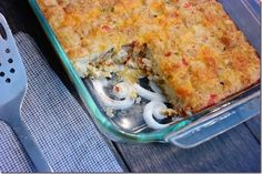Hash Brown Breakfast Bake with Tatertots
