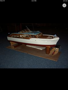 88 best RC Boats images on Pinterest   Boats  Boat and Electric Chris Craft model RC boat