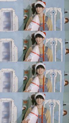 #JUNGKOOK ~❤️ // RUN BTS! 2017 - Epi.32 Jungkook Oppa, Taehyung, Busan, Bts Christmas, All Bts Members, Kpop, Jeon Jeongguk, Christmas Wallpaper, Korean Boy Bands