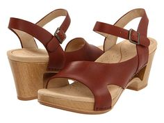 I think these will be perfect for summer. I always prefer the arch and height with skirts, etc. Plus they were listed on a top 10 sandals for pregnant women! Dansko Tasha in Brown
