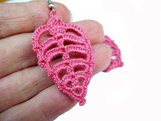 PDF Tutorial Crochet Pattern..Dangle Earrings by accessoriesbynez