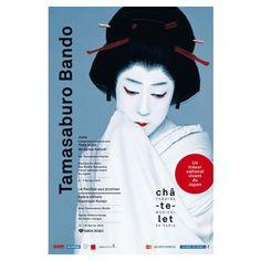 Tamasaburo Bando, au théâtre du Châtelet 2013