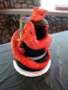 Dragon Cake Ideas