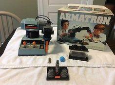 Vintage 1982 Radio Shack Armatron Robot Tandy Robotic Arm 60-2364