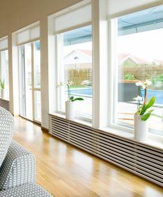 cache radiateur castorama et le cache radiateur moderne dans le salon avec grandes fenetres