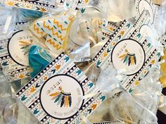 Little chief baby shower cookies made by @jreyes7702