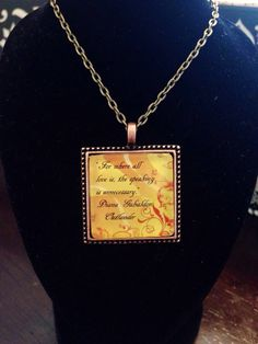 Outlander inspired necklace - by EverydayRegalia