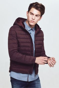 DAVID NAMAN - 100gr DOWN JACKET. Click Here to discover more