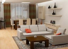 decorating a living room room combination | small living room dining ...