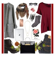 """""""Starting to feel like fall."""" by angiegdurant on Polyvore featuring Boohoo, Nudie Jeans Co., Charlotte Russe, Balenciaga, Burberry, Retrò, Zimmermann, Mura and Charter Club"""