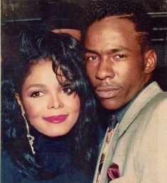 Janet Jackson & Bobby Brown