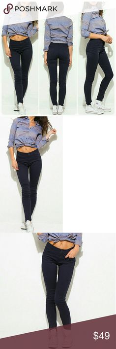 Navy Blue Midrise Denim Skinny Jean Pants New Arrivals   No Trades Price Firm Ships Same Or Next Day Jeans Skinny