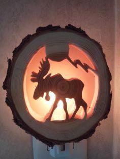 Moose Night Light | Distinctly Montana