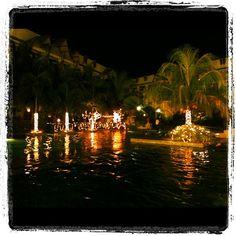Night swimming #philippines