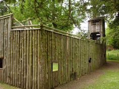 Belton Hall, play house, fort & play area 5