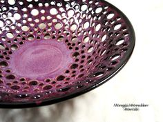 Fruit bowl / Lace bowl/ bread bowl/center by Ningswonderworld, $120.00