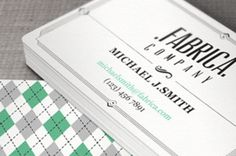 This elegant and retro business card design is ideal to make your company presence outshine the competition. Subtle typography and traced...