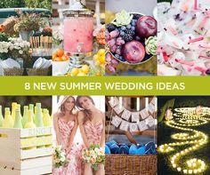 8 New Summer Wedding Ideas