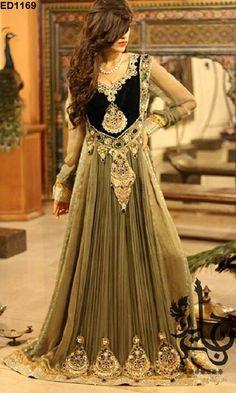 Effortlessly Bridal Wedding Long Dress Glamorous door Ethnicdresses