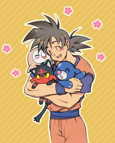 Goku pics pets goku and dragon ball goku alolan starters son gokudragon ball zanime publicscrutiny Gallery