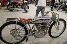 OldMotoDude: 1915 Harley-Davidson Board Track Racer sold for $4...