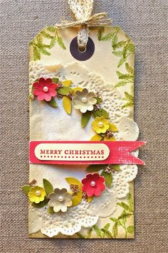 Petite Fleur Paperie: Twelve Tags of Christmas SU Style !