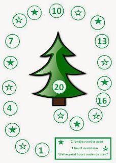 Kerstspellen voor groep 1-5